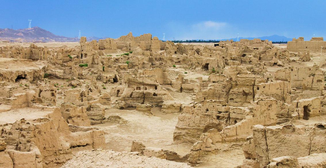 Ruinas de Jiaohe 02 - El Viaje del Monje Xuan Zang