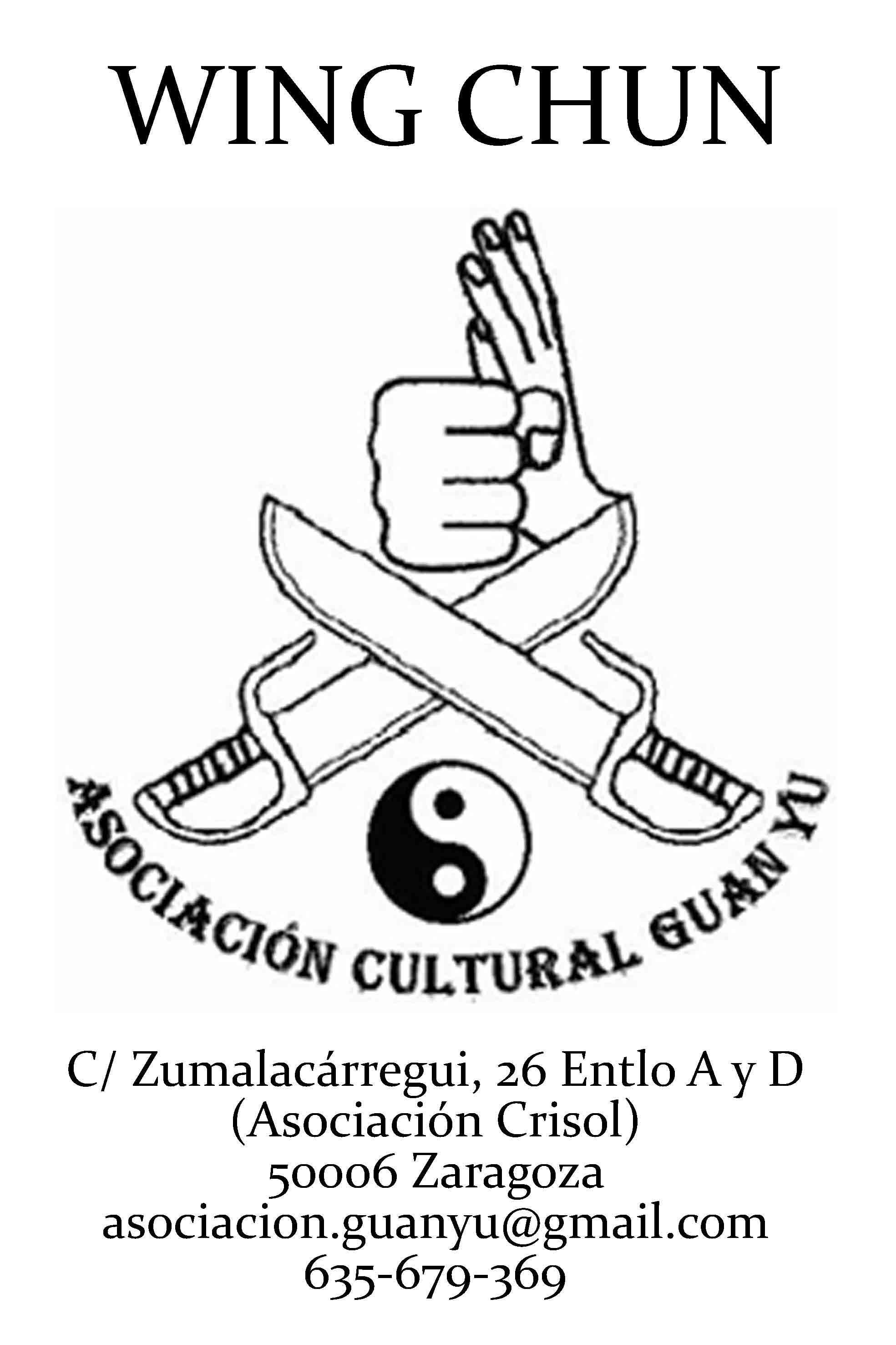 Asociación Guan Yu, Kung fu Wing Chun en Zaragoza