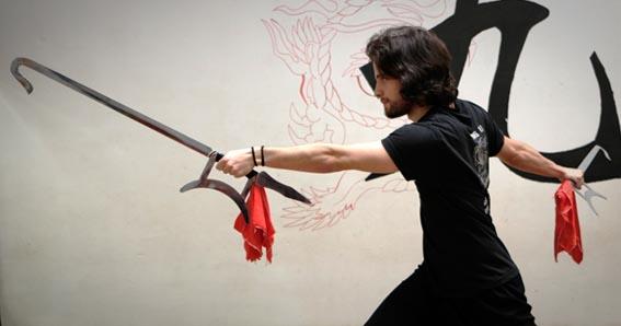 Espadas Garfio, tiger hook swords,