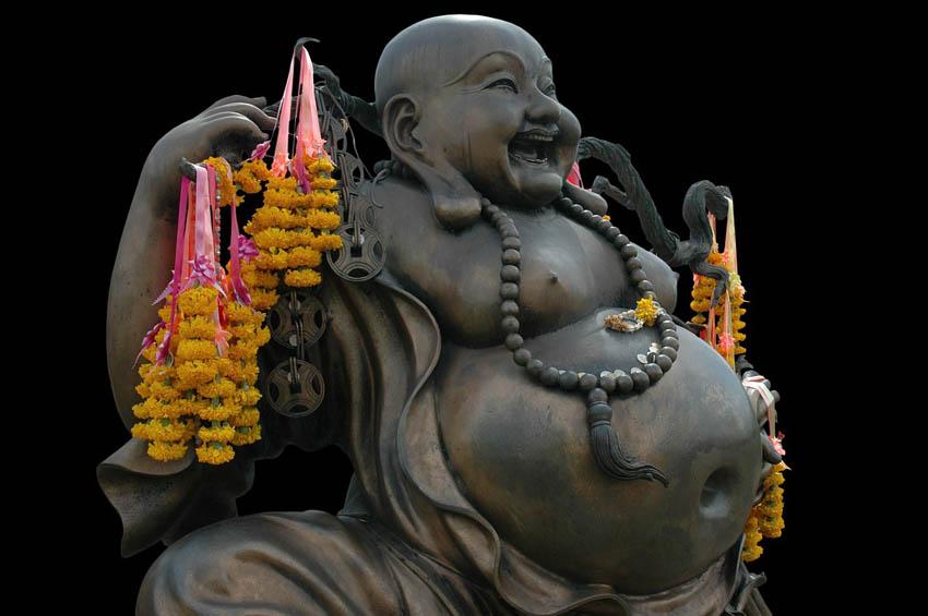 Estatua de Budai - Bùdài, the Laughing Buddha