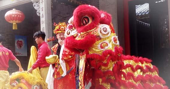 Festival de Primavera, Año Nuevo Chino