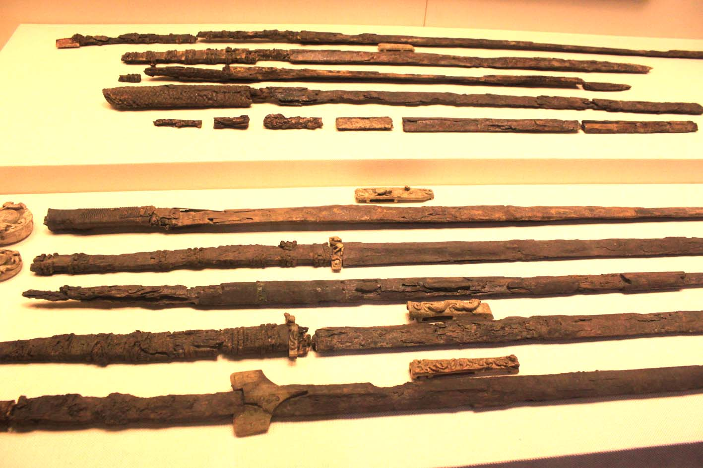Antiguas Espadas Jian - Las Artes Marciales Chinas Antes de Shaolin