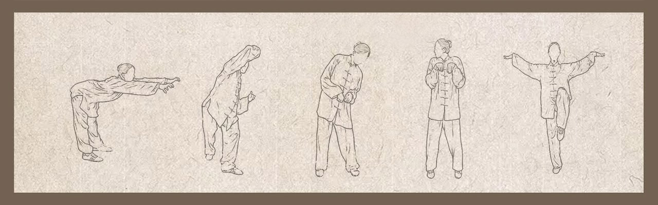 Movimientos Wu Qin Xi - The Origins of the Wu Qin Xi