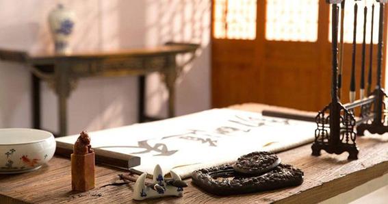 Cuatro Tesoros, Caligrafía China, Pintura