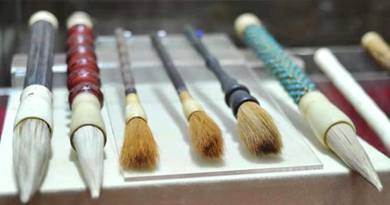 El Pincel de Tinta, Caligrafía China, ink brush,