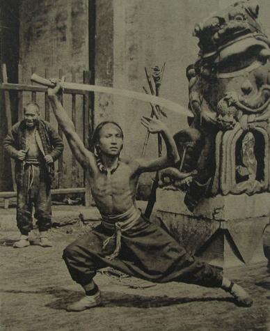 Espadachin 1910 - El Wushu Moderno y Las Artes Marciales de Exhibición