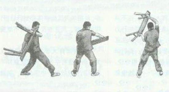 Armas de Kung Fu, Kung Fu Weapons, Banqueta, Abanico