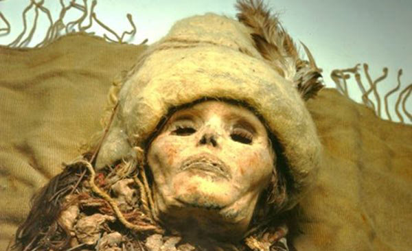 Momia Belleza de Loulan - El Reino Perdido de Loulan
