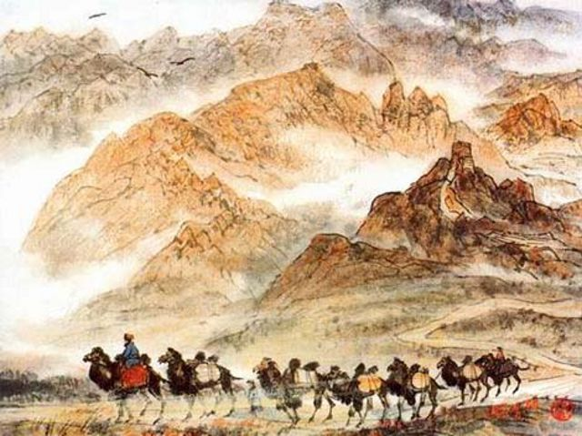 Ruta de la Seda Pintura - El Reino Perdido de Loulan