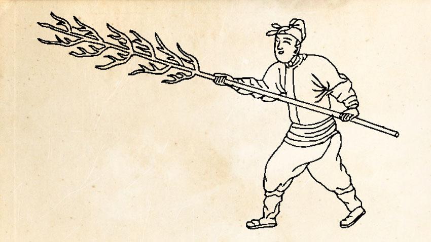 """Langxian or Wolfbrush - Qi Jiguang (I): The """"Mandarin Duck"""" Formation"""