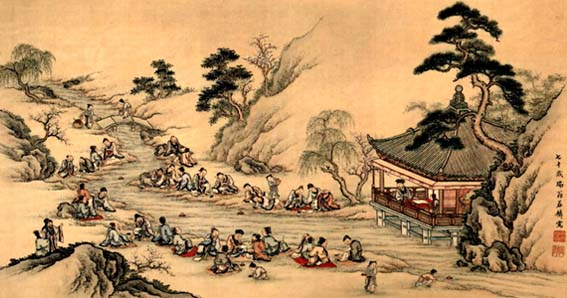 Lantingji Xu, wang xizhi, caligrafía china.